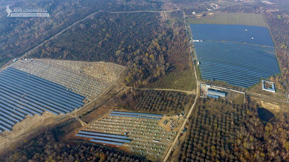 Солнечная станция СЭС Гута-1 и Гута-2